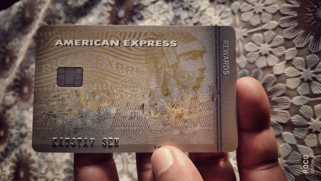 A photo of my AMEX MRCC